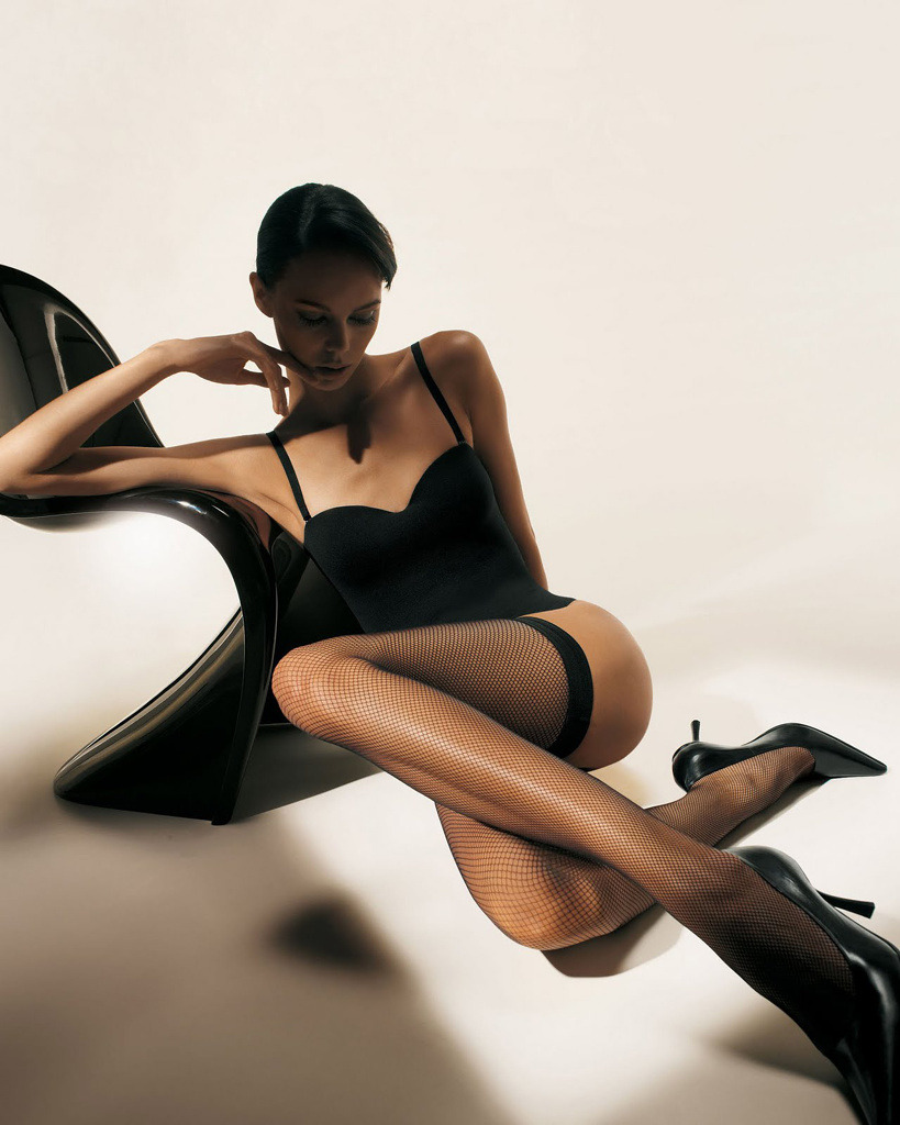 Wow! Mia Rosing again, Wolford Catalog Photoshoot - Best legs ever?