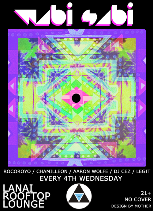 NEW NIGHT @ LANAI ~ EVERY 4TH WEDNESDAYS ~ 10P - 2A
