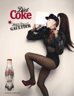 Diet Coke by Jean Paul Gaultier Campaign — Jean Paul Gaultier by Stephane Sednaoui.