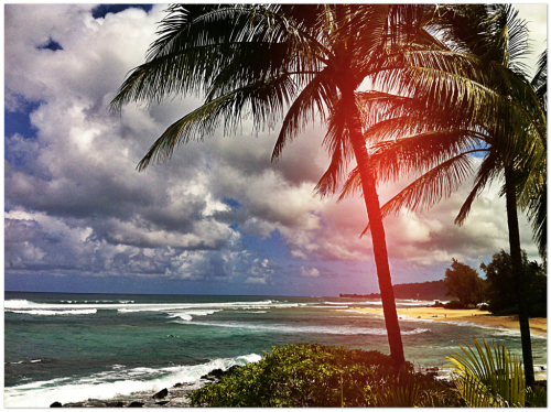 Sunday Funday at the beach house.  North Shore, Oahu 04/15/2012