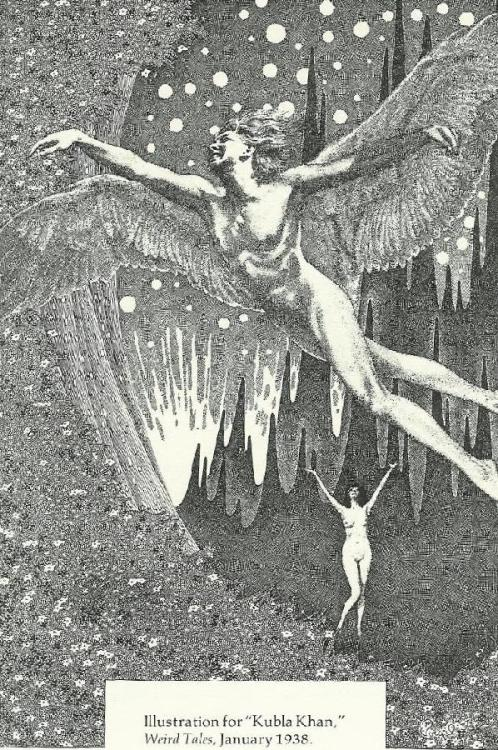 Illustration by Virgil Finlay