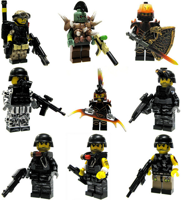 Brick Mercenaries (Batch #3) on Flickr.