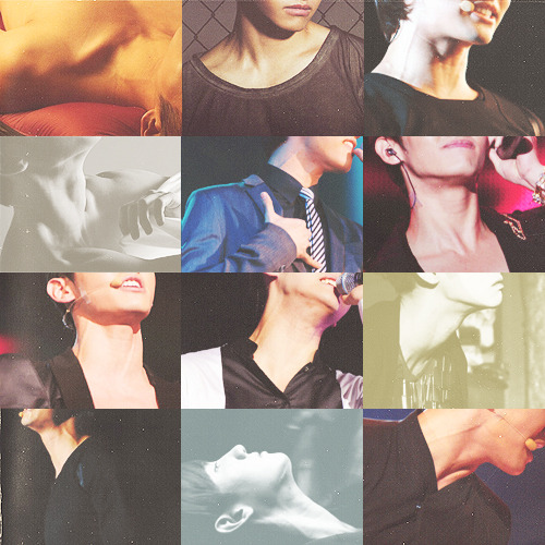 6/9 12 photos of Changmin's neck veins by Anon