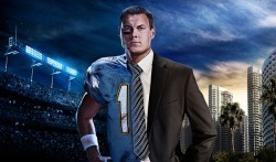 Artwork for a beverage billboard campaign of Chargers quarterback Philip Rivers.