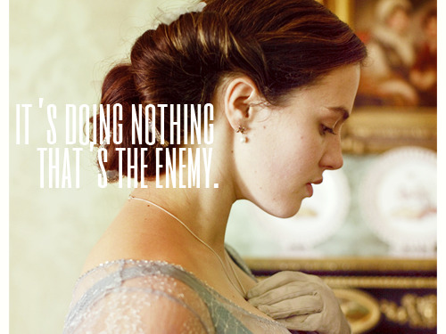 downtonquotes:  Lady Sybil Crawley - Series 2, Episode 3