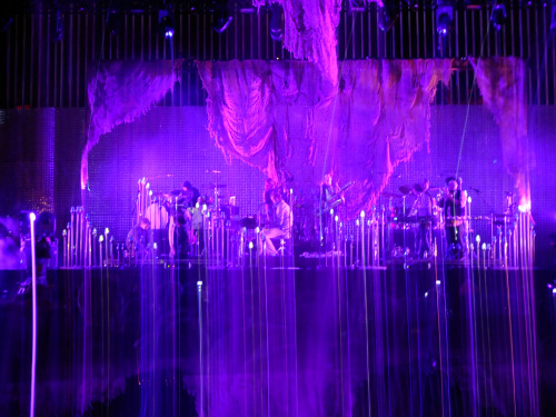 milkstudios:  Shades of purple.  Bon Iver emotes in a way that is like no other. Milk Made reports.  what might've been lost…