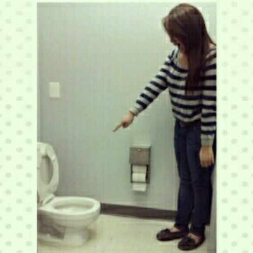 Smallest toilet ever! (Taken with instagram)