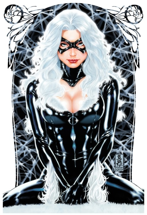 Black Cat by Mark Brooks