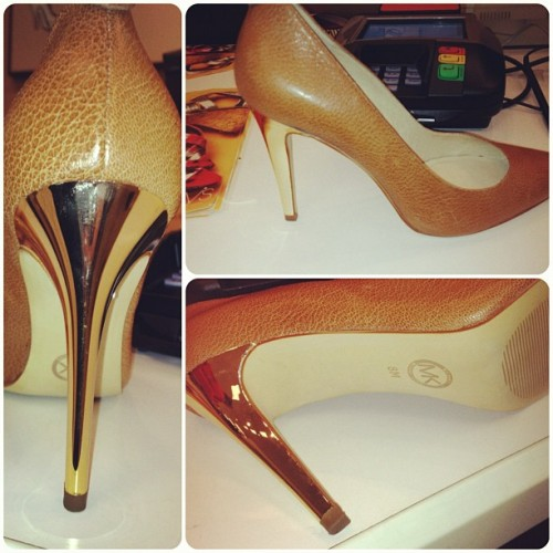My new Michael Kors pumps! @macys great shoe sale!  (Taken with instagram)