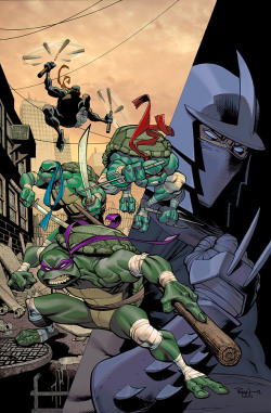 lulubonanza:  TMNT by ~EraserX  Drawn By Ryan Ottley