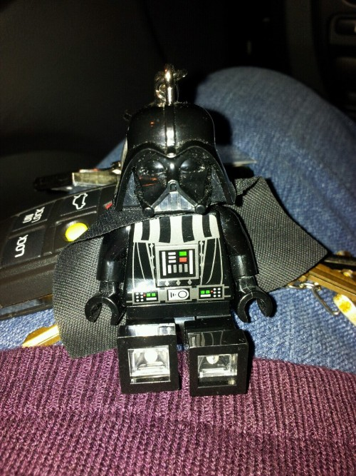 Luke… I am your key chain.