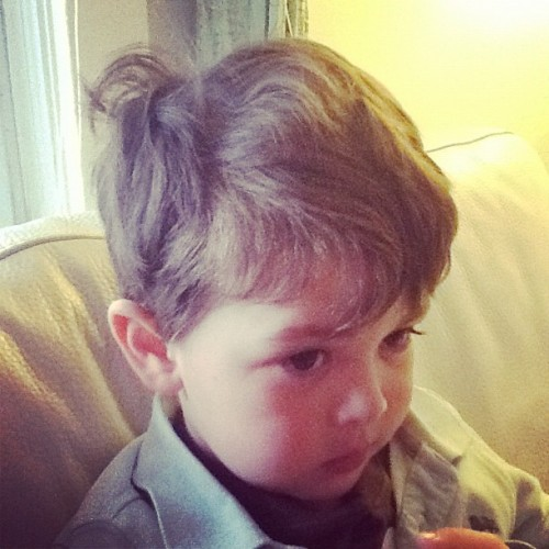 Tiny Mr. Bedhead. (Taken with instagram)