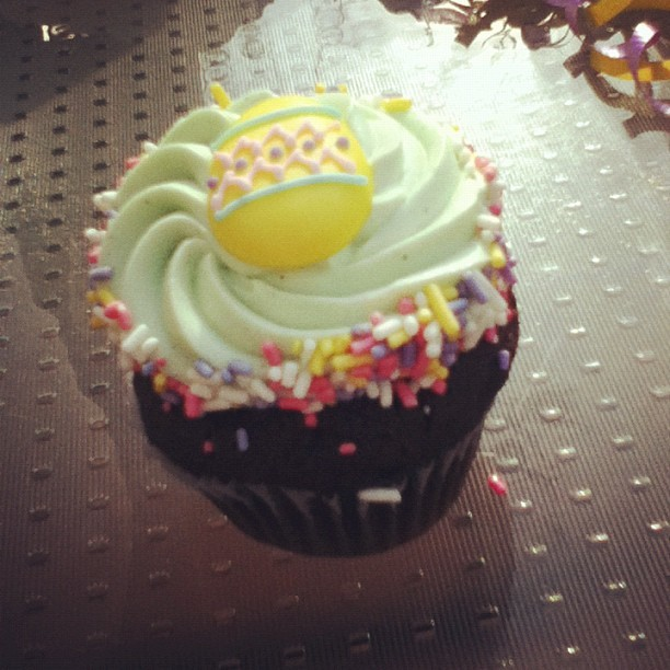 #greekeaster #cupcakes (Taken with instagram)