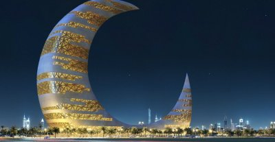 CRESCENT MOON TOWER : DUBAI