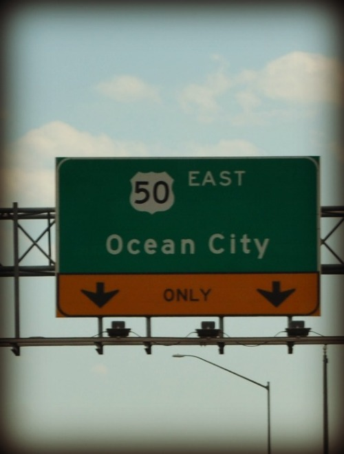 "oceancitymd:  ""Love seeing this sign."" Photo Submitted by: TheLifeOfAqua."