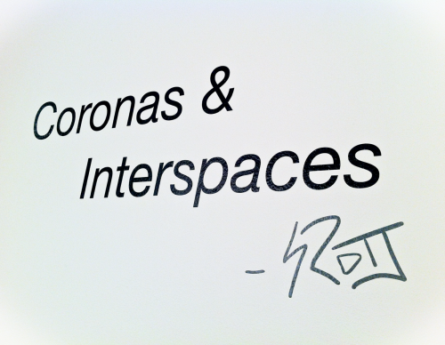 Coronas & Interspaces This is my final art project of my undergraduate career and is featured in The 2012 Senior Show at the E. Bronson Ingram Studio Arts Center at Vanderbilt University.