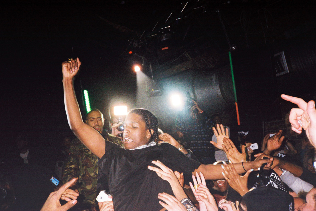 A$AP ROCKY'S FIRST LONDON SHOW