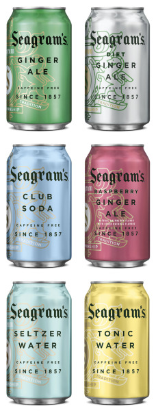 Seagrams sodas by Hatch