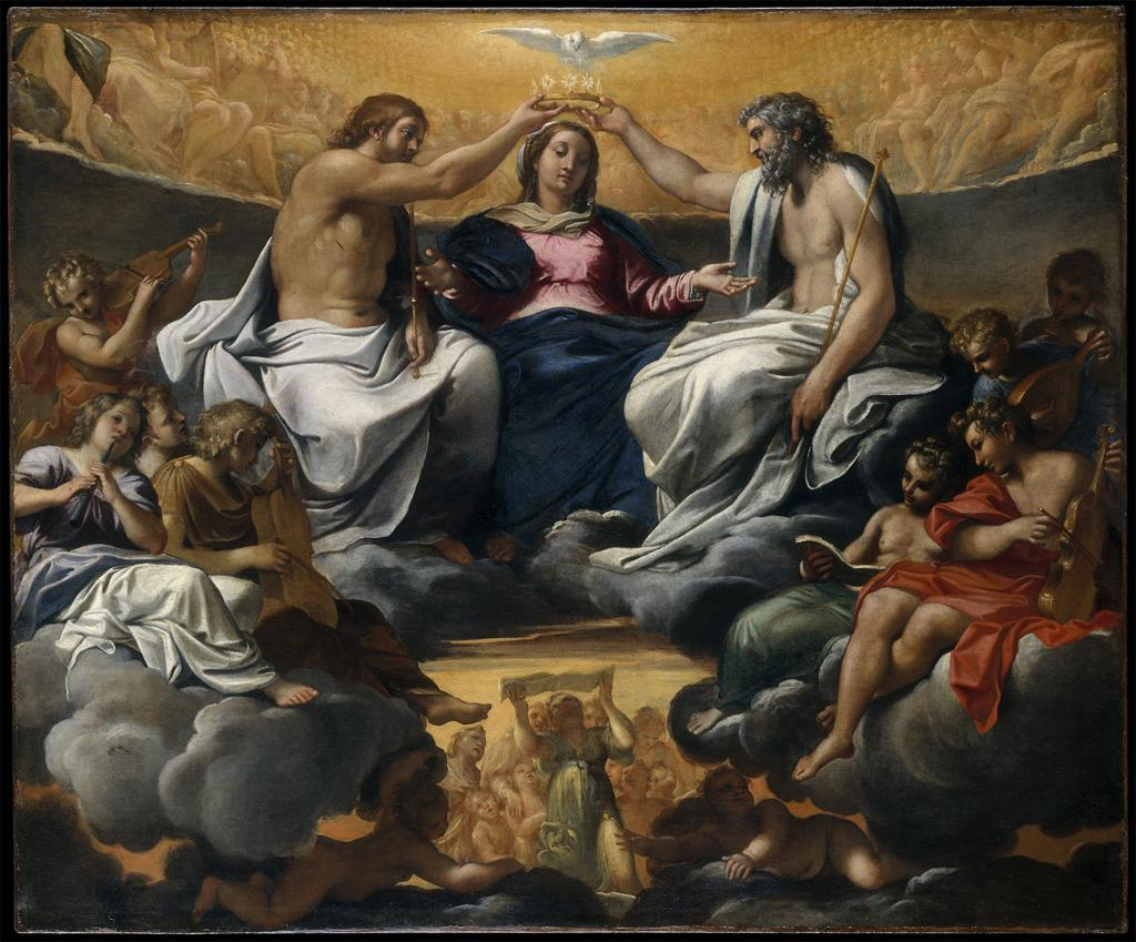 The Coronation of the Virgin, 1559Annibale Carracci