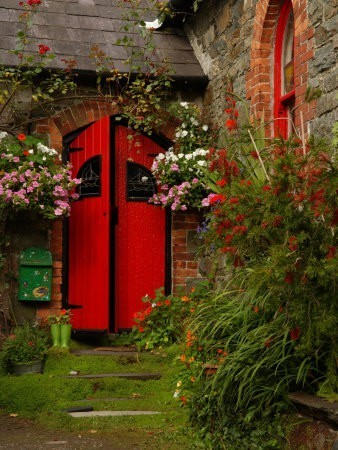 Door in the garden..