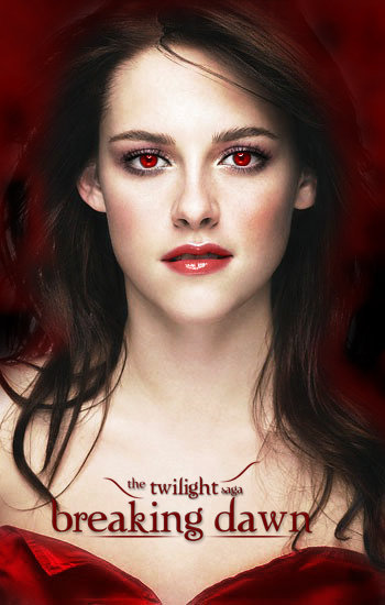At first I hated the Twilight saga. I thought it was a disgrace to the greatest monster in all of folklore. However, I recently came to the conclusion that Stephanie Meyer had her own perception of vampires. It's not a mark against the beautiful creature of the night, that Edward sparkles in the sunlight instead of burning to a crisp. It is the creativity and originality of a bold new writer trying to break the mold. I have grown to accept the saga for what it is rather than question and hate it because it's different. I am now an avid fan and look forward to watching Breaking Dawn parts 1 and 2.