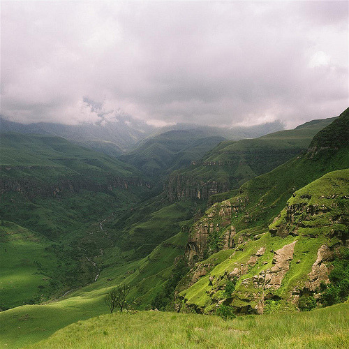 The Drakensberg (by Brandon Stovold)