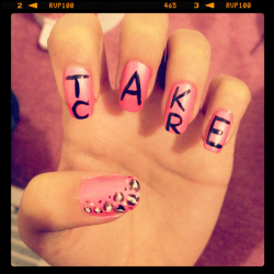 livefortoday-planfortomorrow-x:  Take Care Nails.