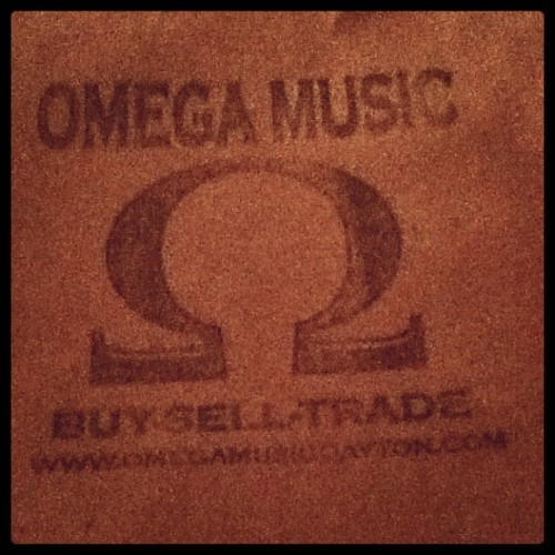 Omega Records #cratediggin  (Taken with instagram)