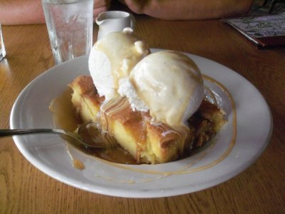 "59 more days Bread Pudding from ""Ohana."