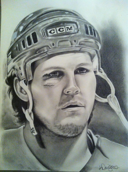 A Bob Probert sketch I did for my honey