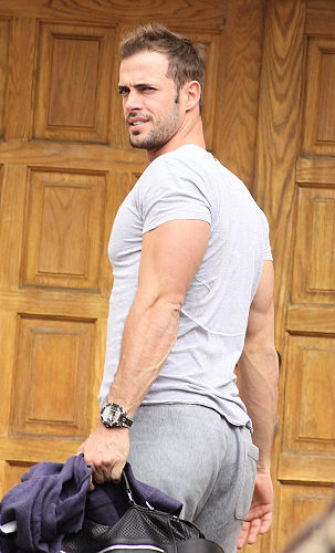 William Levy sighted arriving at rehearsal for DWTS in LA on April 13, 2012