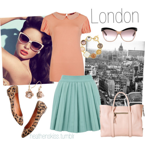 London by heathenskiss featuring leather handbags