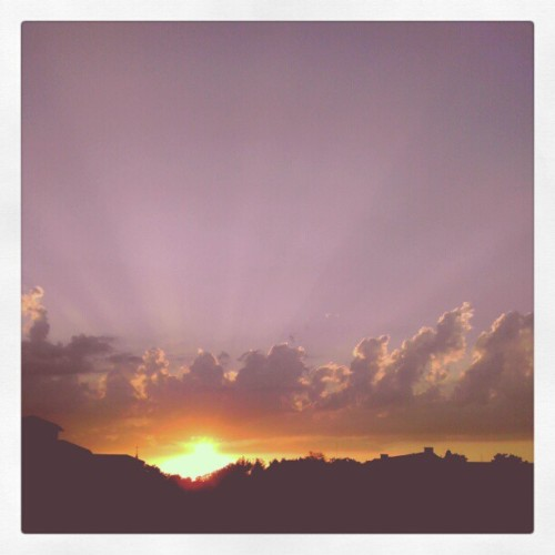 sunset. (Taken with instagram)