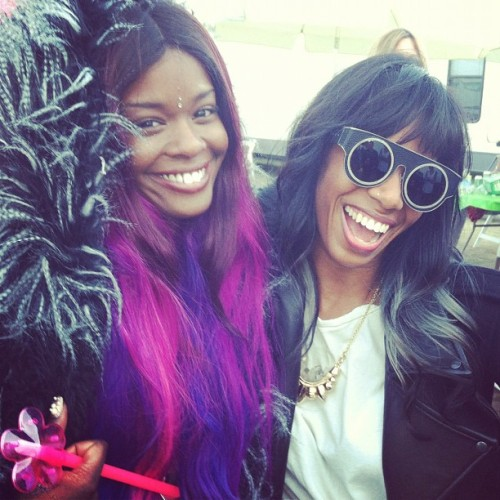 Me and Santigold!