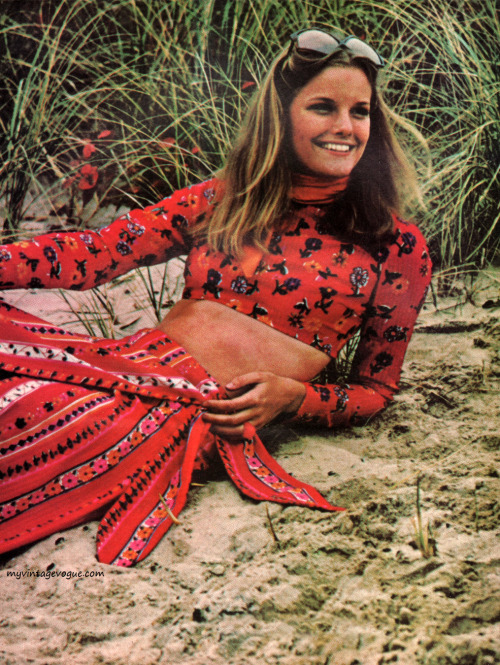 Fashion from the Vogue Pattern Book, April/May 1971.