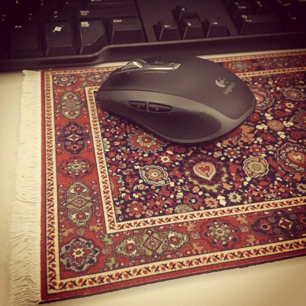 My new mousepad is dope. #instagram #instagood #cairo #egypt #technology #arabic (Taken with instagram)