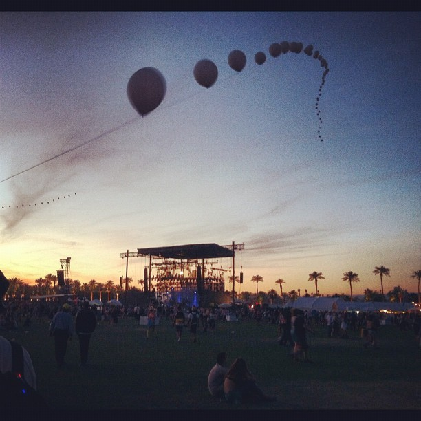 Last night coachella @coachella #coachella (Taken with instagram)