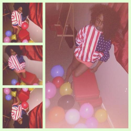 house of balloons .