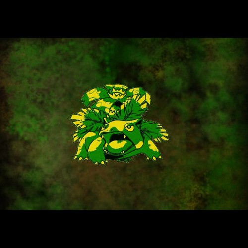 #pokemon #grass #type #venusaur #evolve #evolution #leaf #boredom #digital #art  (Taken with instagram)