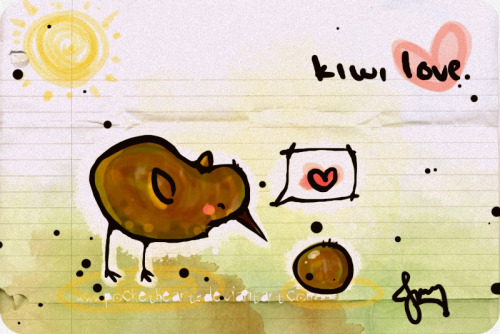 thebirdnotthefruit:  KIWI by ~pockethearts