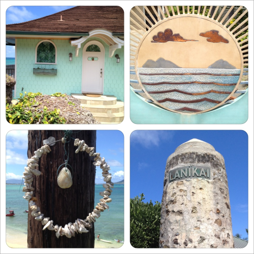Today I walked one mile from Lanikai beach to Buzz's. It was pretty, but still no North Shore.