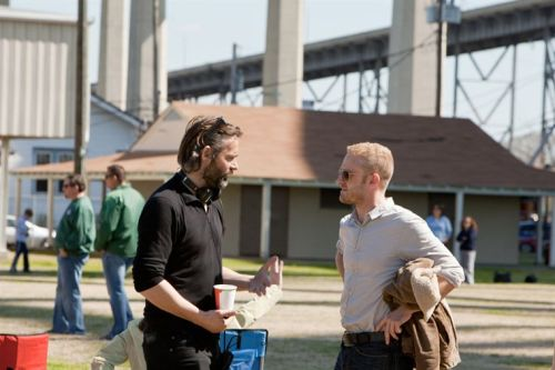 benfoster:  On the set of Contraband with director Baltasar Kormákur.