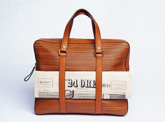 Delavux Newspaper Bag for Monocle