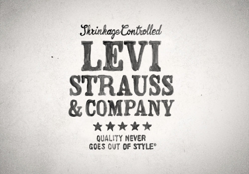 Levi's designed by BMD Design