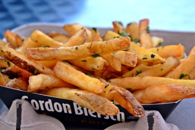 Garlic Fries at AT&T Park.