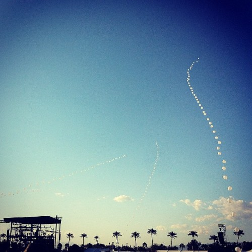 Balloons. #coachella  (Taken with instagram)