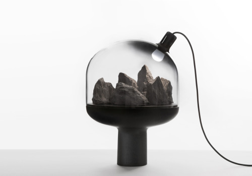 Objet Curiosité lamp by Gaëlle Gabillet and Stephane Villard (via Jocundist)