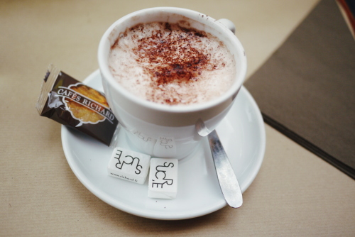 Hot Chocolate in Paris Mmm toasty memories from Christmas. <3