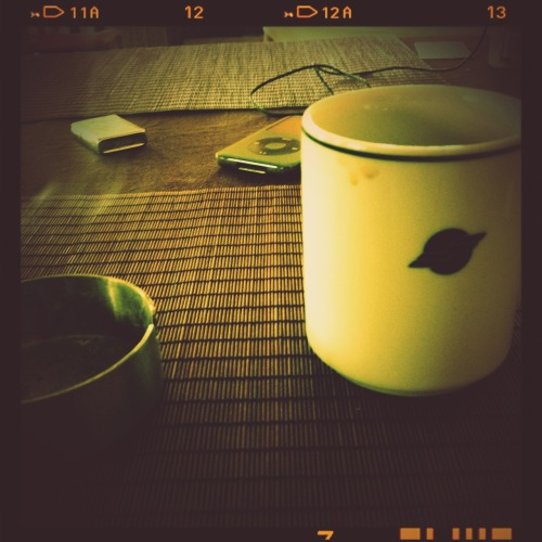 morning coffee_
