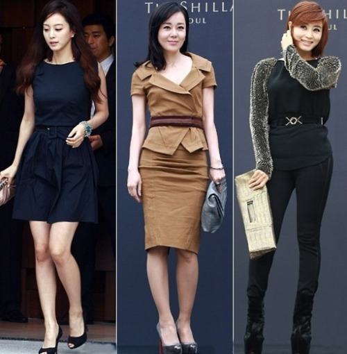 Han Ye Seul, Kim Yun Jin and Kim Hye Soo in Jun Ji Hyun's Wedding